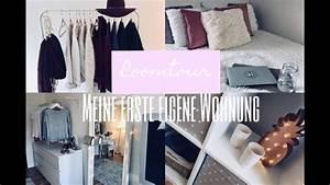 Meine Erste Wohnung : wohnungstour meine erste eigene wohnung zaramiraa youtube ~ Orissabook.com Haus und Dekorationen