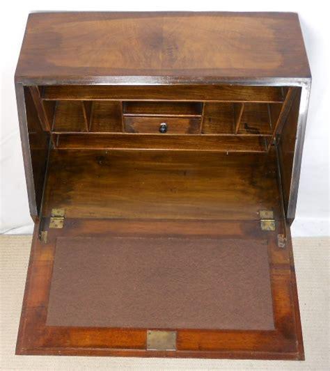 bureau sold walnut writing bureau desk sold