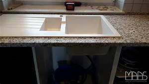 Weiße Granit Spüle : d ren ikea k chen mit bianco sardo granit arbeitsplatten ~ Michelbontemps.com Haus und Dekorationen
