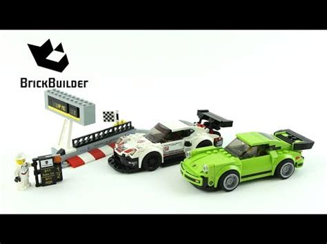 lego speed chions porsche lego speed chions 75888 porsche 911 rsr and 911 turbo 3 0 lego speed build