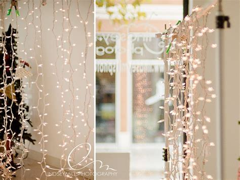 diy holiday lights photo backdrop ideas for pictures