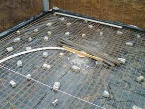 Feutre Sous Gravier : radier piscine comment faire des fondations stables et ~ Premium-room.com Idées de Décoration