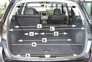 jeep patriot trunk space 2010 subaru outback research page