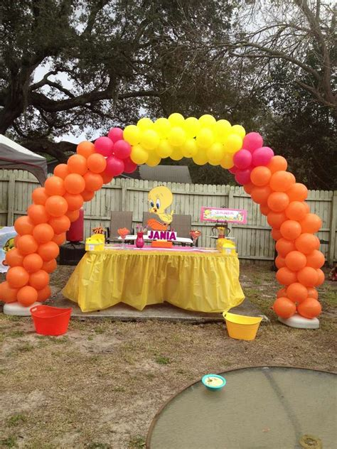 tweety bird birthday party ideas photo    catch