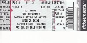Inspiring Detail Information of Event Concert Ticket ...