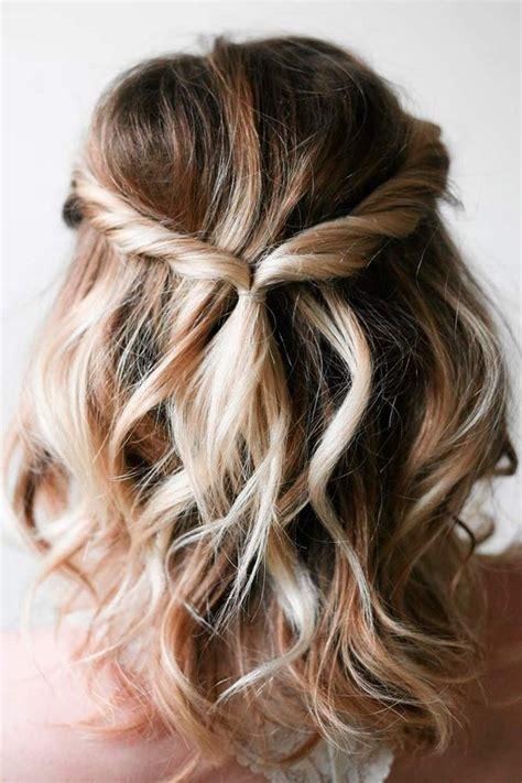 latest wedding hairstyles  medium length hair