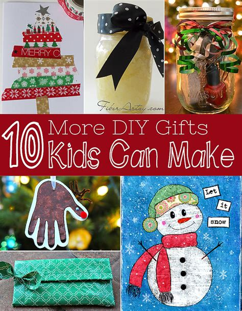 ten more gifts kids can make diy christmas gifts