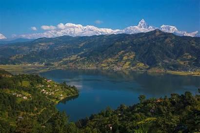 Pokhara Lake Phewa Commons Wikimedia
