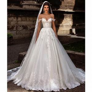 Aliexpress.com : Buy Off the Shoulder Princess Wedding ...