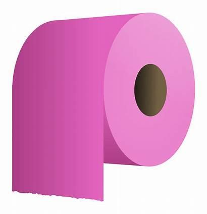 Toilet Paper Roll Clipart Purple Transparent Svg