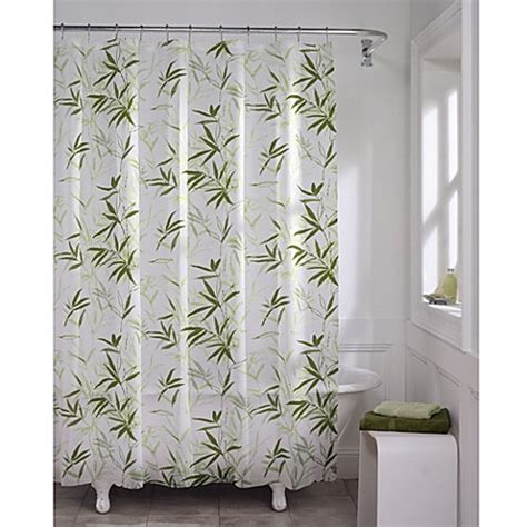 Zen Garden Peva 70inch X 72inch Shower Curtain Bed