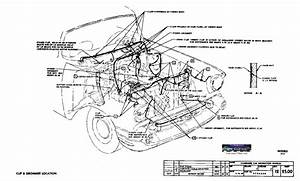 Diagram  1957 Chevy Truck Under Hood Generator Wire