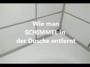 Schimmel In Der Dusche Entfernen : schimmel aus der dusche entfernen youtube ~ Buech-reservation.com Haus und Dekorationen