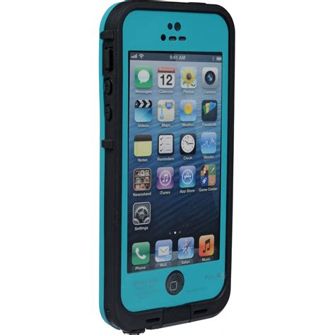 iphone 5 lifeproof lifeproof fr for iphone 5 5s se teal black 2101 06 b h