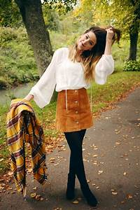 Zoella   Autumn Style   70u2019s u0026 Scarves