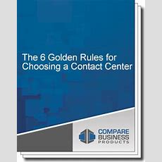 The 6 Golden Rules For Choosing A Contact Center Solution