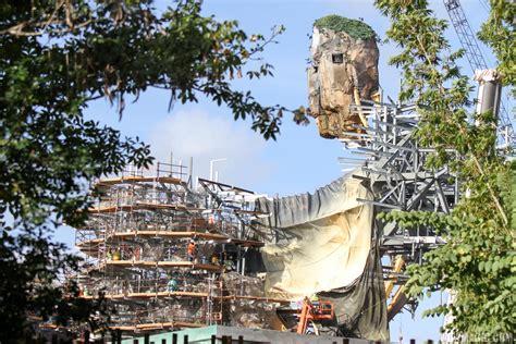PHOTOS   Pandora   The World of AVATAR construction update