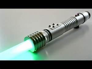 KR X OR Kit Fisto Star Wars Custom FX Lightsaber NBv4.0 ...  Lightsaber