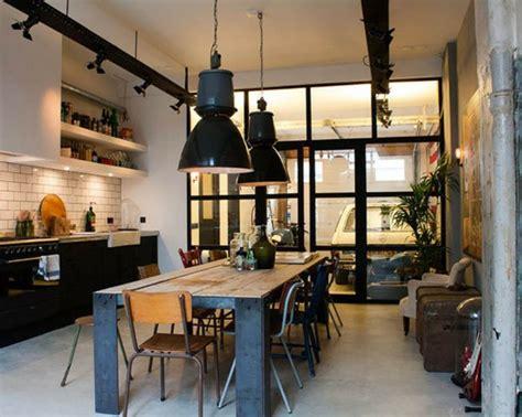 cuisine deco industrielle déco cuisine industrielle exemples d 39 aménagements