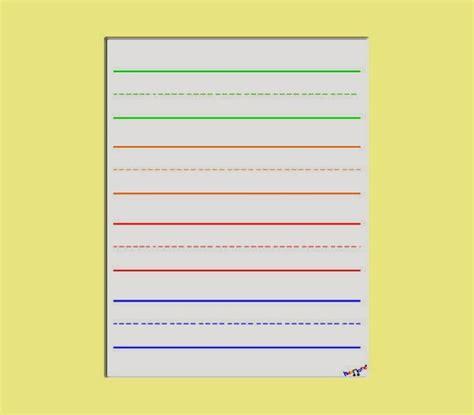 preschool handwriting paper preschool handwriting paper writing 858
