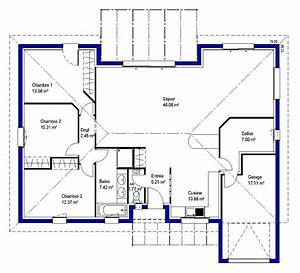maeva 33 maisons lara With plan maison en l 100m2 17 bessines maison contemporaine