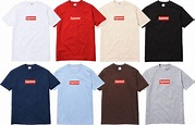 Supreme Re-Releases Box Logo T-Shirt for 20th Anniversary ...
