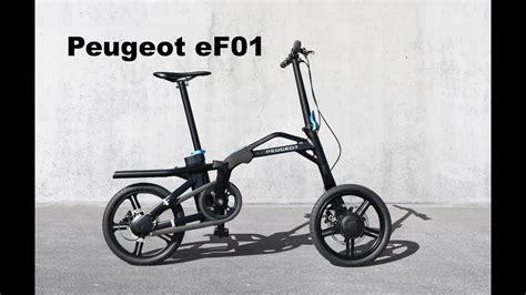 Peugeot Folding Bike by Peugeot Ef01 Folding Electric Bike