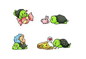 Kawaii Cute Turtle Drawings