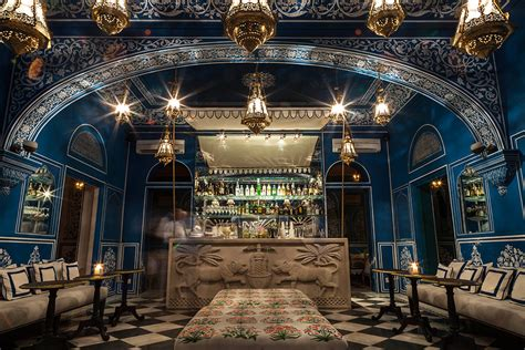 stunning restaurant decor bar palladio jaipur audenza