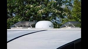 Satfi Satellite Tv Dome Installation Onto A Caravan Video