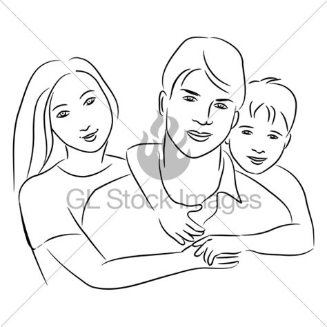 family gl stock images