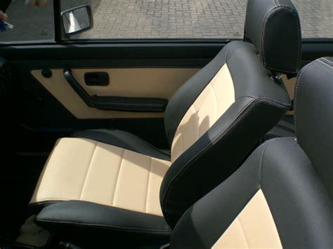 cabriolet interieur cuir