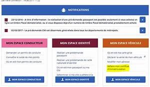 Carte Grise Barrée 2 Fois : comment faire une demande de duplicata en ligne site immatriculation ~ Gottalentnigeria.com Avis de Voitures