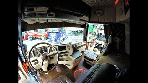 showtruck interiors  scania    verbeek youtube