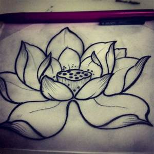 lotus flower tattoo on Tumblr
