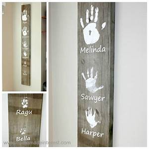 personalized handprint wall art With what kind of paint to use on kitchen cabinets for personalized dog wall art