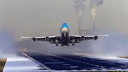 Klm 747 Takeoff Boeing Airline Dutch Wallpapers