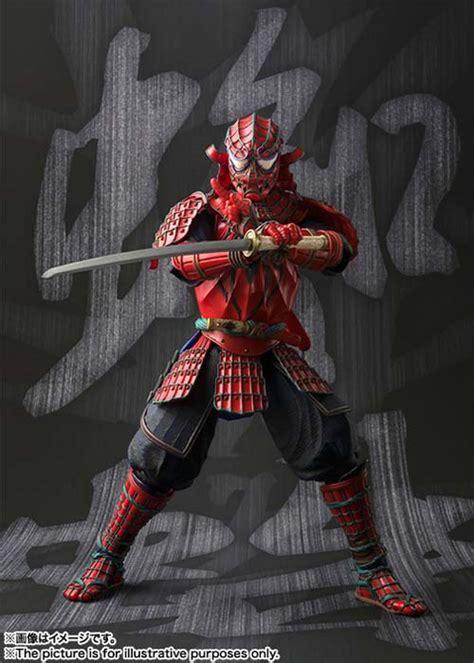 meisho manga realization samurai spider man action figure