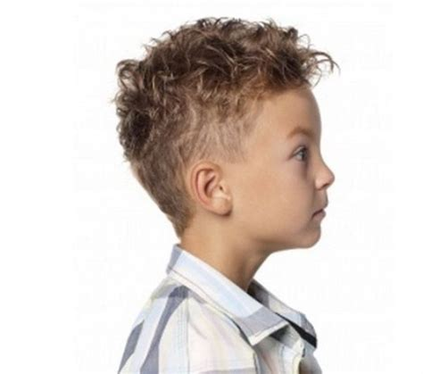 Curly Hairstyle For Boys by 17 Best Ideas About Boys Curly Haircuts On