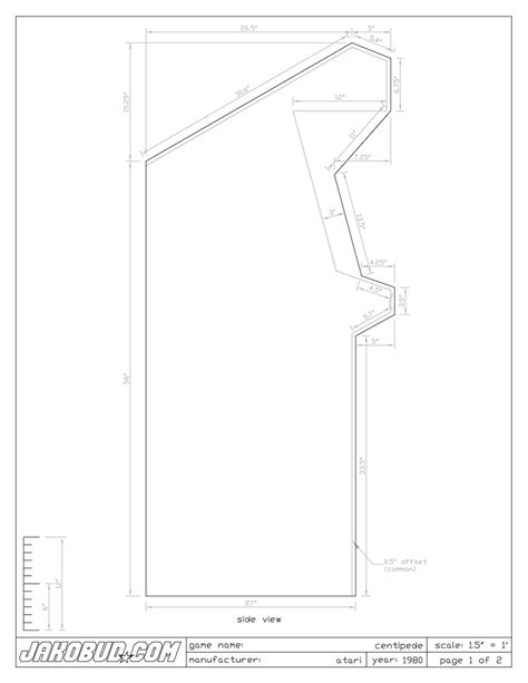 galaga arcade cabinet plans january 2011 enteryourinitials