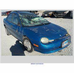 1998 DODGE NEON REBUILT SALVAGE Rod Robertson