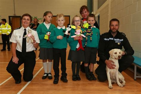 northumbria to carry teddies in patrol cars to comfort distressed children chronicle live
