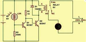 Light Dependent Resistor Circuit Diagram With Applications