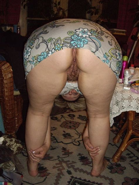 Matures And Grannies Bent Over Pussy Shots Hairy Edition