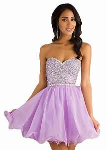 #lilac #prom #dress #short #sparkles #cute #fun   dresses ...