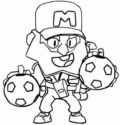 Brawl Stars Coloring Mike Coach Update March