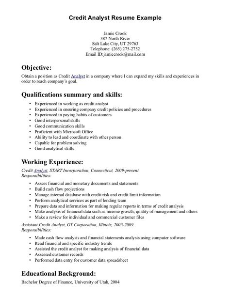 credit analyst resume keywords project manager resume construction project manager cover letter credit analyst position