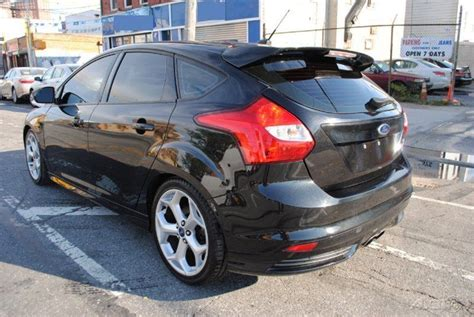 ford focus st 2 0 ecoboost 2013 ford focus st 2 0 ecoboost turbo rebuildable wrecked for sale