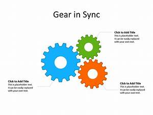 Ppt Slide-gear Diagram - 3 Gears