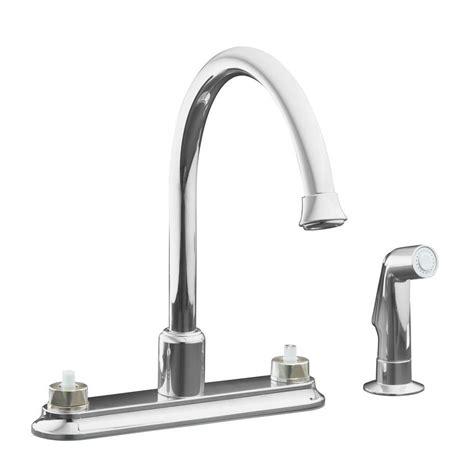 kohler coralais kitchen faucet kohler coralais 2 handle standard kitchen faucet in